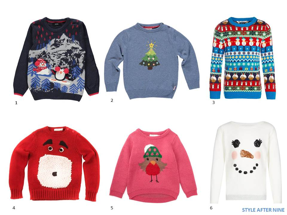 KIDS\' CHRISTMAS JUMPERS – THE EDIT   Style After Nine